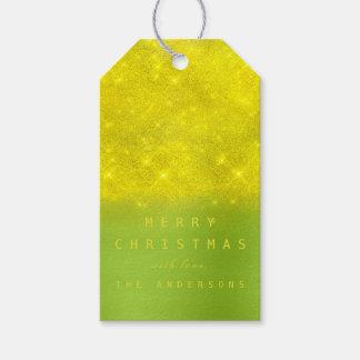Etiqueta Para Presente Hortaliças das cinzas do amarelo do Tag do