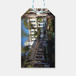 Etiqueta Para Presente Hotel de Tenerife e Tag do presente das palmeiras