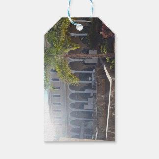 Etiqueta Para Presente Hotel de Tenerife no Tag do presente da luz do sol