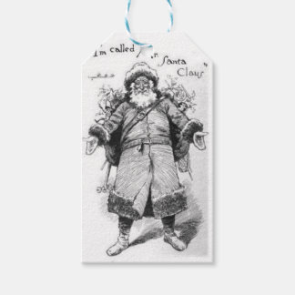 Etiqueta Para Presente I_Am_Santa_Claus