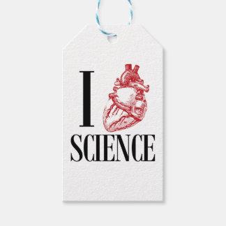 Etiqueta Para Presente I heart science