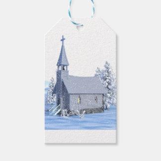 Etiqueta Para Presente igreja do Natal