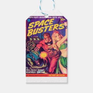 Etiqueta Para Presente Imbeceis do espaço