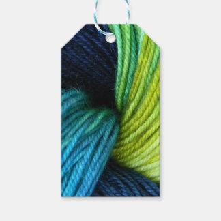 Etiqueta Para Presente Impressão do fio, fazendo malha, crochet