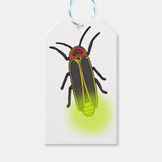 Etiqueta Para Presente inseto de relâmpago leve