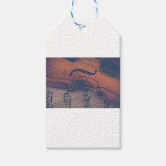 Etiqueta Para Presente Instrumento musical clássico de instrumento de
