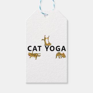 Etiqueta Para Presente ioga do gato