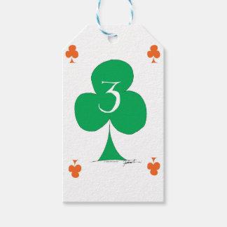 Etiqueta Para Presente Irlandês afortunado 3 dos clubes, fernandes tony