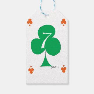 Etiqueta Para Presente Irlandês afortunado 7 dos clubes, fernandes tony