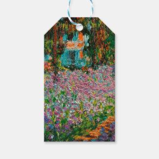 Etiqueta Para Presente Jardim de Monets em Giverny