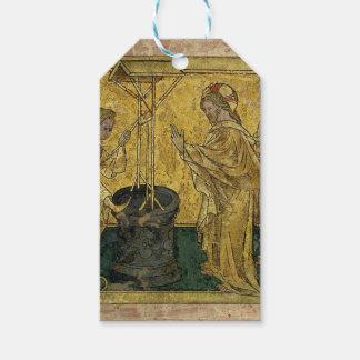 Etiqueta Para Presente Jesus e a mulher do samaritano no poço