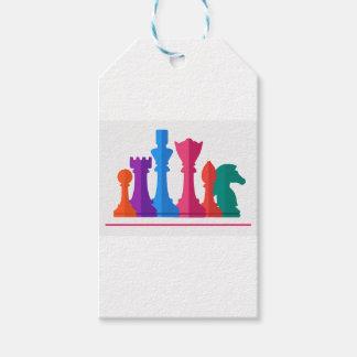 Etiqueta Para Presente Jogo de xadrez