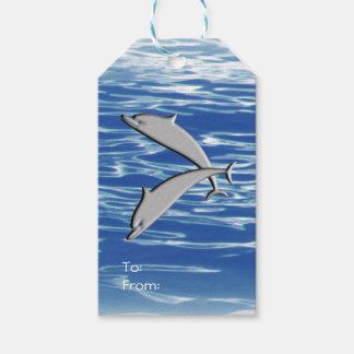 Etiqueta Para Presente Jogo do golfinho