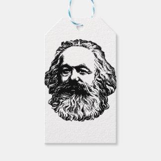 Etiqueta Para Presente Karl Marx - comunismo