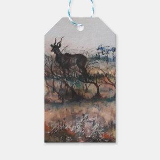 Etiqueta Para Presente Kudu Bull