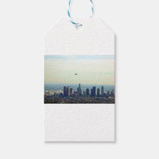 Etiqueta Para Presente LA e helicóptero