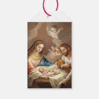 Etiqueta Para Presente La Natividad