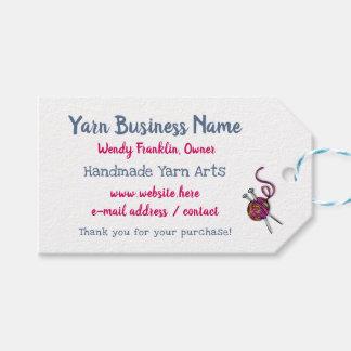 Etiqueta Para Presente Laço horizontal de confecção de malhas do negócio
