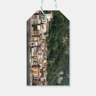 Etiqueta Para Presente Lago Como