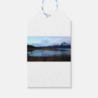 Etiqueta Para Presente Lago na estrada de Maud
