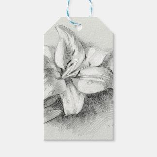 Etiqueta Para Presente lily-2