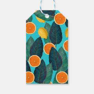 Etiqueta Para Presente limões e cerceta das laranjas