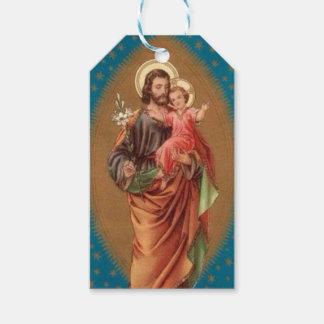 Etiqueta Para Presente Lírio de Jesus do bebê de St Joseph