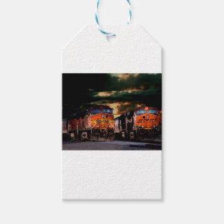 Etiqueta Para Presente Locomotivas poderosas prontas para transportar