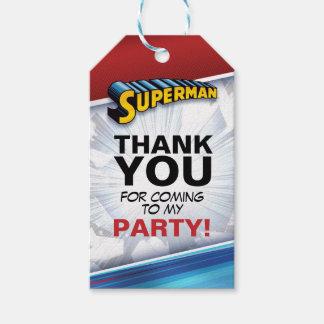 Etiqueta Para Presente Logotipo clássico do superman | da história em
