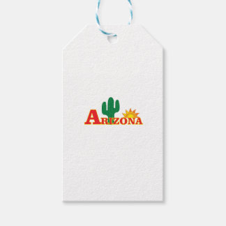 Etiqueta Para Presente Logotipo da arizona simples