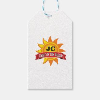 Etiqueta Para Presente luz do jc do mundo