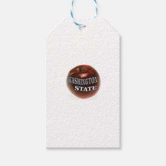 Etiqueta Para Presente Maçã do vermelho do estado de Washington