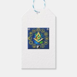 Etiqueta Para Presente Maçonaria todas as religiões