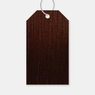 Etiqueta Para Presente madeira