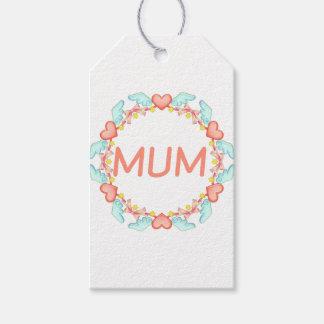 Etiqueta Para Presente Mãe elegante