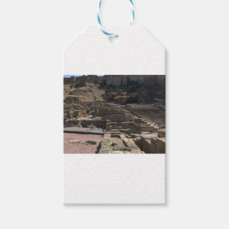 Etiqueta Para Presente Malaga; anfiteatro