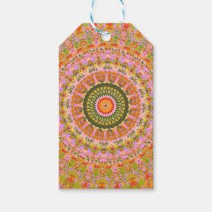 Etiqueta Para Presente Mandala feliz do hippy c9ebbc5ce2c