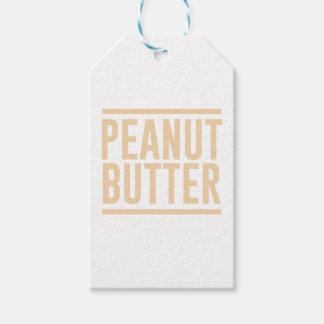 Etiqueta Para Presente Manteiga de amendoim