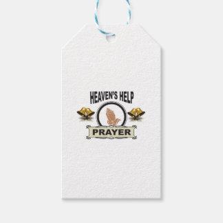 Etiqueta Para Presente mãos da ajuda e da oração