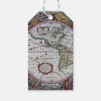 Etiqueta Para Presente Mapas velhos de América