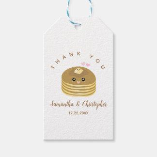 Etiqueta Para Presente Melhor obrigado que junto Wedding lunático você