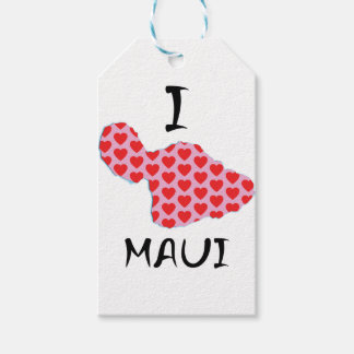 Etiqueta Para Presente Mim coração Maui