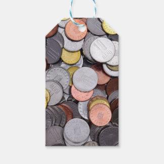 Etiqueta Para Presente moedas romenas