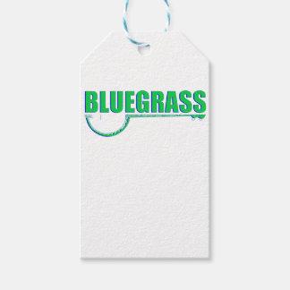 Etiqueta Para Presente Música de Bluegrass