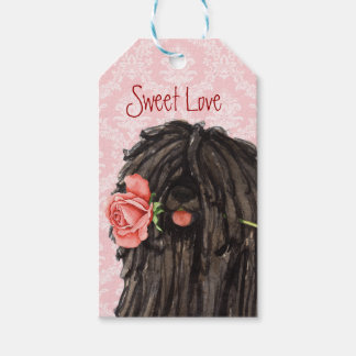 Etiqueta Para Presente Namorados Puli cor-de-rosa