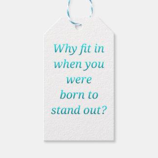 Etiqueta Para Presente Nascer a estar para fora