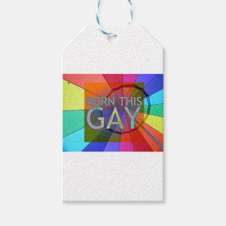 Etiqueta Para Presente Nascer este gay