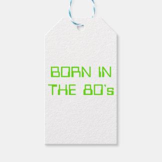 Etiqueta Para Presente Nascer no anos 80