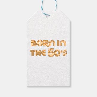 Etiqueta Para Presente Nascer nos anos 60
