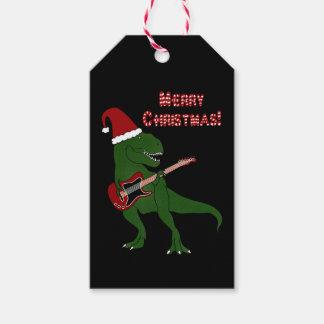 Etiqueta Para Presente Natal da guitarra de T-Rex